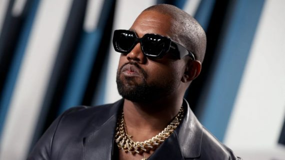 Kanye West, Vanity Fair Oscar Party 2020, Rich Fury, Vanity Fair