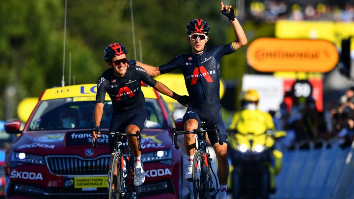 Team Ineos, Richard Carapaz, Michał Kwiatkowski, Tour de France 2020, AFP