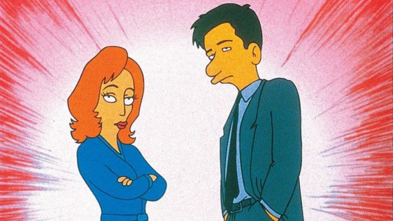 The X-Files, Scully i Mulder, Simpsonowie, 20th Century Fox