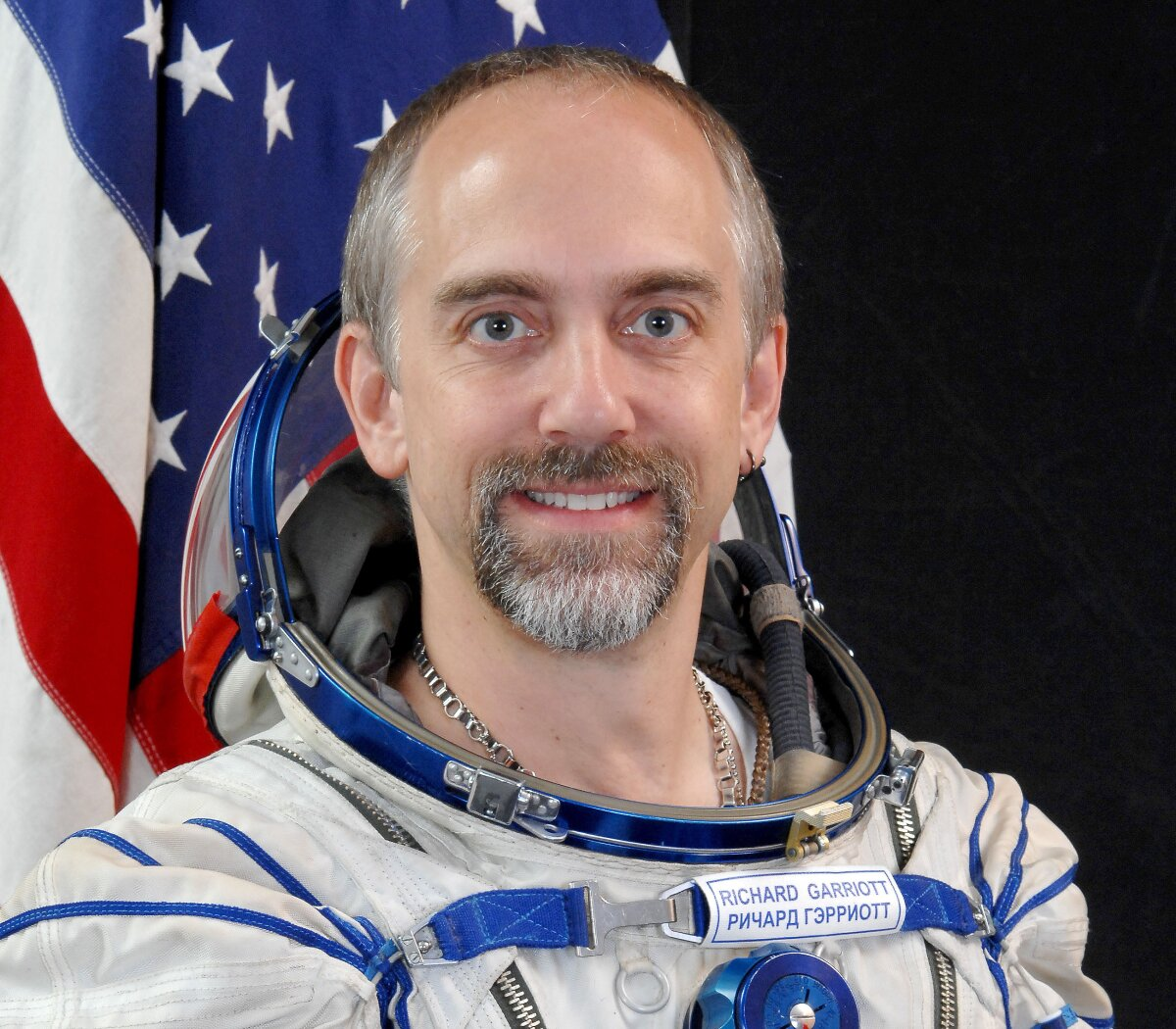 Richard Garriott, kosmonauta, NASA