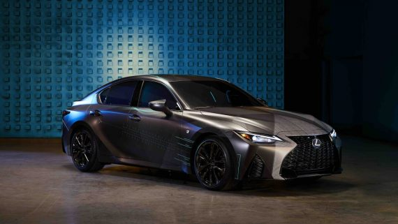 Gamers' IS, Lexus IS 350 F Sport, Lexus