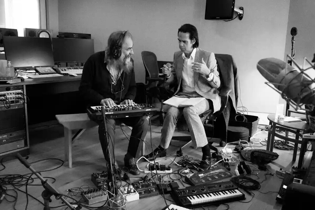 Warren Ellis, Nick Cave, Joel Ryan