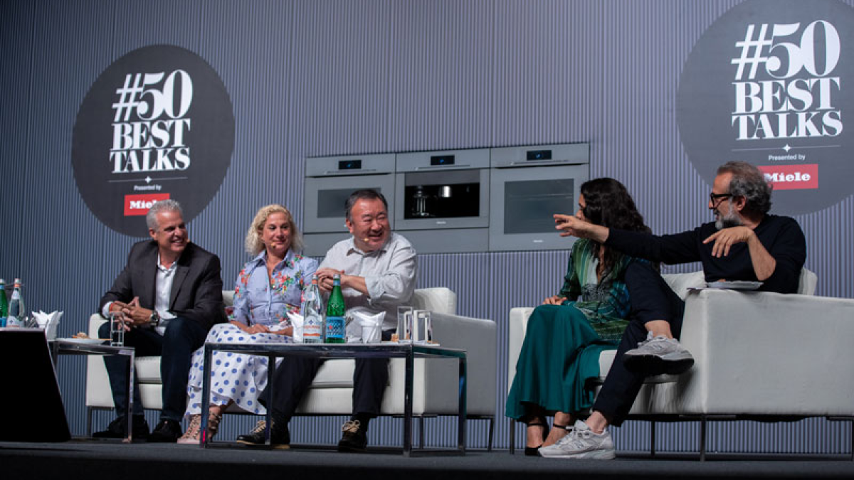 Eric Ripert, Ana Roš, Tetsuya Wakuda, Daniela Soto-Innes, Massimo Bottura, #50BestTalks, The World's 50 Best Restaurants 2019, 50 Best